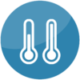 Extreme / Wide Temperature Icon - Captec