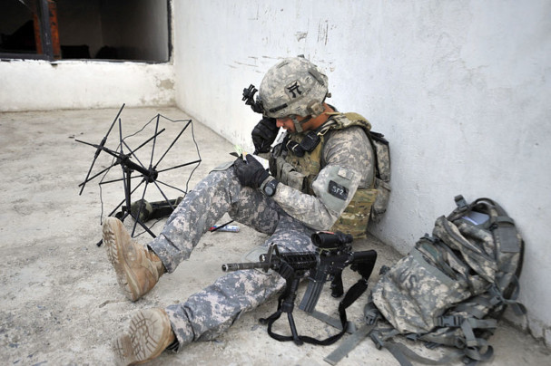 rugged tablet solider