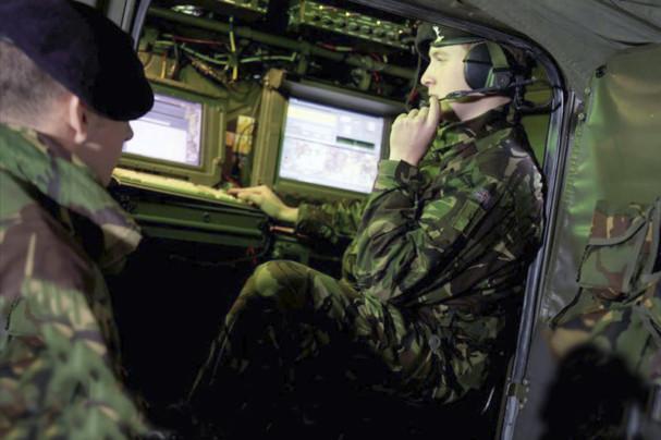 Defence computer racks